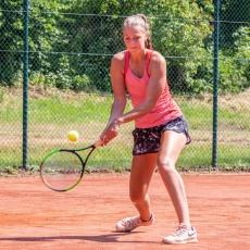 ITF in Essen, Matchbälle abgewehrt und Sieg gegen Gifhorn